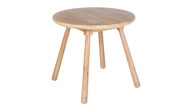 Kindertafel naturel